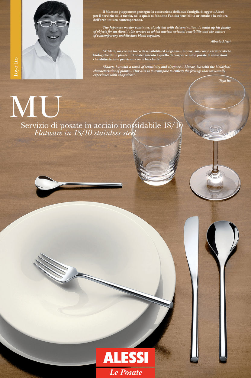 Alessi MU 24 PCS. SET